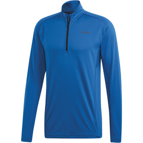 adidas TERREX Trace Rocker 1/2 Zip LS Shirt Herren blue beauty